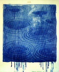 Rain 1973 by David Hockney