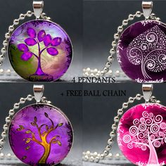 Arty scapes - Resin Pendants & Accessories.