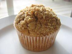 cinnamon streusel muffins.