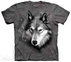 The Mountain - Wolf Portrait T-Shirt, $20.00 (http://shop.themountain.me/wolf-portrait-t-shirt/)