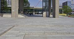 Schellevis: Concrete paving slabs - Eindhoven University 3 of 7 Concrete Paving Slabs, Eindhoven, Tiles, Sidewalk, University, House, Design, Room Tiles, Home