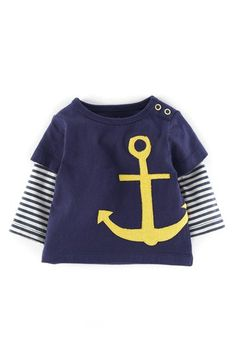 Mini+Boden+Nautical+Appliqué+Layered+Look+T-Shirt+(Baby+Boys)+available+at+#Nordstrom
