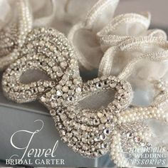 Luxurious Wedding Accessories — Couture Bridal Garters from Luxurious Wedding Accessories