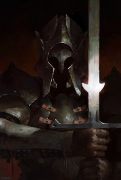 ArtStation - Knight, Valeriy Vegera
