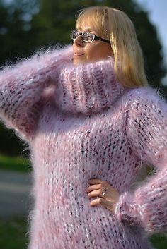 Fluffy Sweater, Mohair Sweater, Men Sweater, Turtleneck, Jumper, Thick Sweaters, Winter Sweaters, Women's Sweaters, Gros Pull Mohair