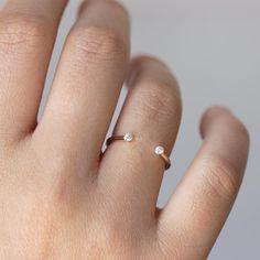 Ring on finger small diamond rings, tiny rings, silver rings, silver Small Diamond Rings, Tiny Rings, Rings For Her, Diamond Jewelry, Gold Jewelry, Bff Rings, Leather Jewelry, Wedding Ring Finger, Wedding Ring For Him