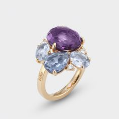 alternative engagement ring #pontevecchiogioielli #preciousstones