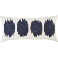 """ink blot 23""""x11"""" pillow in view all rugs/pillows 