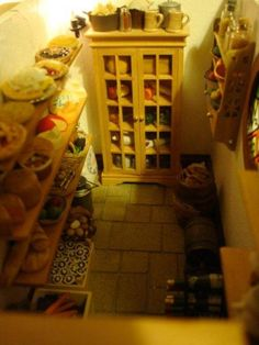 Miniature Bag End pantry - built by Maddie Brindley