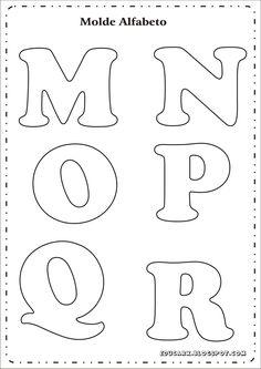 Educar X: Molde de letras para mural                                                                                                                                                                                 Más