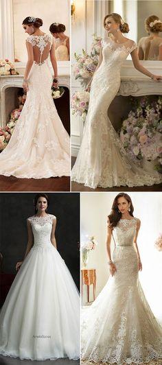 Vai casar em 2017? Já escolheu seu vestido de noiva? Veja as tendências para te ajudar! ;)
