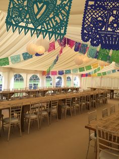 Country rustic marquee style