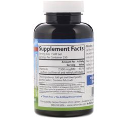Carlson Labs, Vitamin A