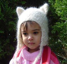Kitti Earflap CROCHET PATTERN No038. $3.99, via Etsy.