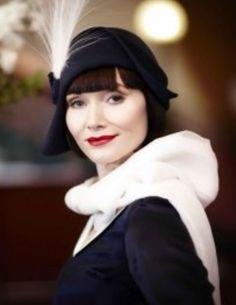 {Essie Davis} Sassy Phryne Fisher ~ Miss Fisher's Murder Mysteries