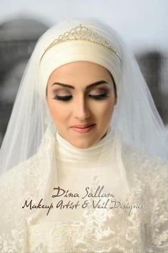 The simplest ideas are sometimes the best.  - Muslim Bride in Hijab