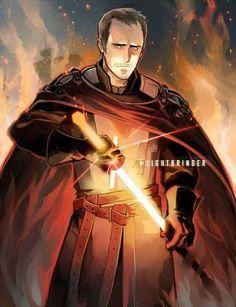 Stannis and Lightbringer