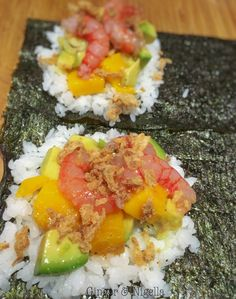 mondo, Giappone, Mareavocado, cucina etnica, Cucina Giapponese, gamberi, gamberi in pasta kataifi, Giappone, kataifi, lime, mango, pesce crudo, salsa di soia, sushi, temaki, wasabi