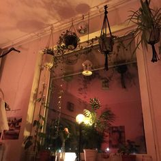 Ideas For House Goals Dreams Bedrooms Plants My New Room, My Room, Bedroom Inspo, Bedroom Decor, Punk Bedroom, Aesthetic Room Decor, Room Goals, Dream Apartment, House Goals