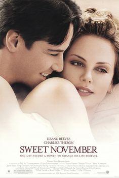 """Sweet November"" movie poster, 2001."