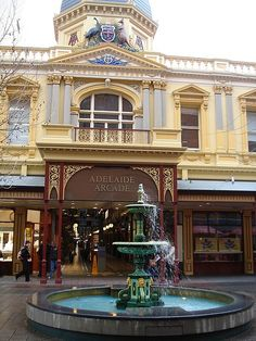 Rundle Mall vintage fountain • Adelaide's icons