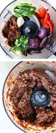 Raw Vegan Veggie Meat