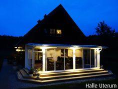 Bli Inspirerad Halle, Home Fashion, Zen, Pergola, Loft, Mansions, House Styles, Outdoor Decor, Inspiration