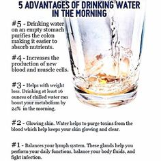 RISE & SHINE! Its a new day, start it off right with HYDRATION! Bless!