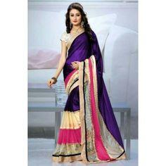 brahmani enterprise Multi Colour Saree With Good Quality