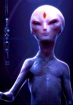 Extraterrestrial being