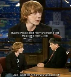 magic isn't real