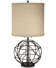Pacific Coast Alloy Globe Table Lamp