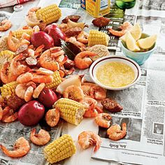 I've never been to a shrimp boil (cheap friends), but want to have one.   What is generally...