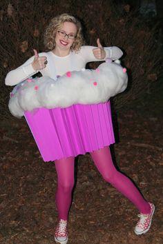 Harris Sisters GirlTalk: DIY Cupcake Halloween Costume Photo Tutorial