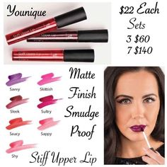 Lip Stains #organic #Smudgefree