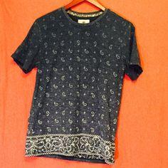 MENS Bandana T-Shirt Bandana t-shirt from pac sun Men's medium PacSun Tops Tees - Short Sleeve