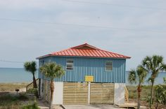 The Blue Marlin on St. George Island  Directly on the beach, 3 bedrooms, 2 bathrooms, hot tub, game room and more!