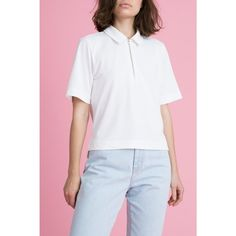Sporty chic is sometimes the sweetest treat. So cure your tee woes with this street fab arrival! Part of our recycled fibers collection, this top is made from 100% recycled poly… Because we think that stuff is as important as your style is.  100%
