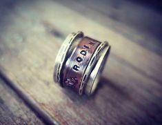 Rotujúci prstienok / lobelia - SAShE.sk Hamsa, Lapis Lazuli, Rings For Men, Silver Rings, Etsy, Jewelry, Jewellery Making, Men Rings, Jewerly
