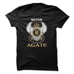 (Tshirt Produce) AGATE Never Underestimate [Tshirt design] Hoodies, Funny Tee Shirts