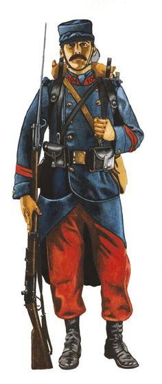 French uniform, 1914-15.