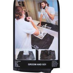 Clean Cover 5 in 1 Grooming Solution Hair Mat, Black