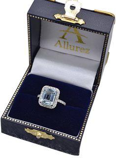 Butterfly Diamond & Amethyst Engagement Ring Palladium (0.20ct)