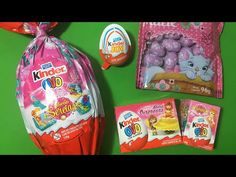 GIANT KINDER & opening 20-YEAR-OLD Kinder Surprise Eggs! How To Cook That - YouTube
