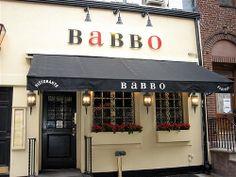 Babbo, NYC, Mario Battali,  Amazing!!