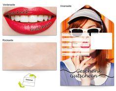 Motiv Make-Up stylish - Gutscheinvorlagen