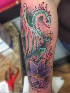 Colorful Tattoo Inspiration City Tattoo, Tattoo Inspiration, Watercolor Tattoo, Colorful, Cream, Cool Stuff, Tattoos, Creme Caramel, Tatuajes