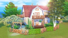AvelineSims - Seaside House Just wanted to build something...