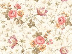 Vintage Flower Backgrounds, Cute Flower Wallpapers, Vintage Floral Wallpapers, Vintage Flowers Wallpaper, Floral Vintage, Background Vintage, Background Patterns, Vintage Birds, Sf Wallpaper