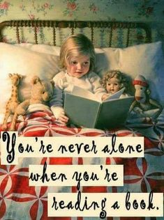 How I made it through my childhood! I was alone but never lonely! gs♡